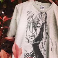 CAFÉ ANOUCHKA T-shirts 2019◎カフェ・アヌーシュカTシャツ・杢グレー