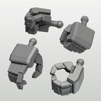 EIGHT MechHand:角 ラージサイズ詰め合わせセット(9.5mm~13.0mm)