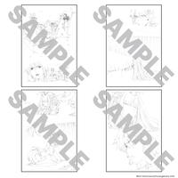 蒼き鋼のアルペジオ 原画展  ポストカードセット
