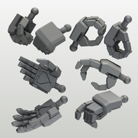 EIGHT MechHand:角6.0~13.0mm DX版