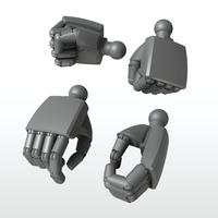 EIGHT MechHand:丸 スモールサイズ詰め合わせセット(6.0mm~9.5mm)