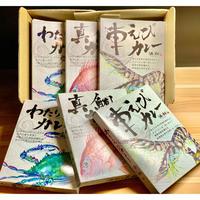 ギフトBOX 浜潮オリジナルカレー「知多 海の幸三種食べ比べ」6個入り