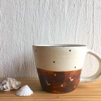 エミシ工房  泥彩 マグカップ#2