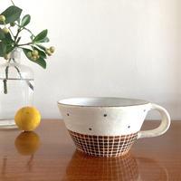 エミシ工房・泥染スープカップ