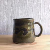 三輪田窯 波紋マグカップ #1
