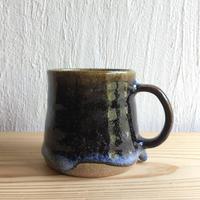 三輪田窯 ぽってりマグカップ