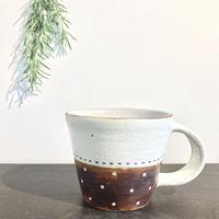 エミシ工房・泥彩マグカップ(ドット)