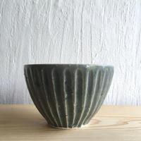 エミシ工房  鎬模様のまるカップ#3