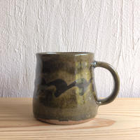 三輪田窯 波紋マグカップ #2