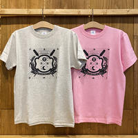 豊年・豊漁 グレー/ピンク
