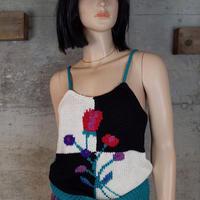 Vintage Designed Knit Camisole