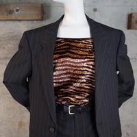 """""""Yves Saint Laurent"""" Wool Suits Jacket & Pants Co-ords"""