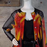Vintage Designed Sheer Jacket