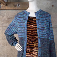 Vintage Designed Wool Knit Cardigan