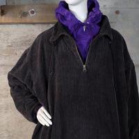 Vintage Half-zip Corduroy Jacket