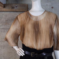 Vintage Designed Sheer Top