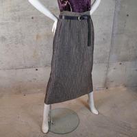 Luminous Chambray Rayon Skirt