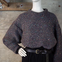 """JUNMEN"" Mix Nep Wool Knit"
