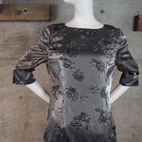 Shiny Rayon Dress