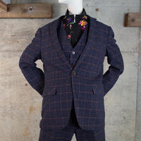 Plaid Wool Suits 3Piece Co-ords