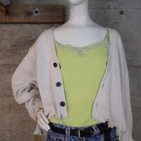 """GAP"" Vintage Crash Knit Cardigan"