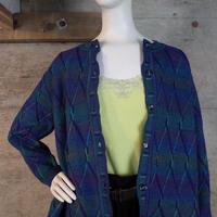 Designed Glitter Knit Cardigan