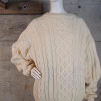 Aran Cable Stitch Wool Knit