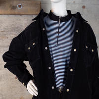 Vintage Suede Leather Western Shirt