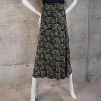 Designed Acetate Knit Skirt