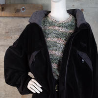 Designed Velour Zip-up Jacket
