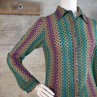 Designed Knit Blouse