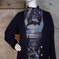 """Abercrombie & Fitch"" Vintage Crash Knit Cardigan"