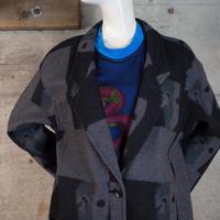 Designed Wool Long Coat