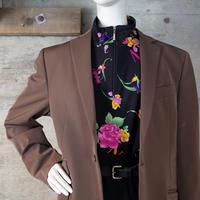 Vintage Luminous Chambray Tailored Jacket