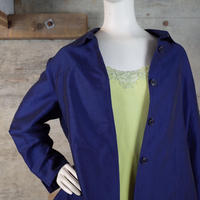 Vintage Luminous Chambray Rayon Jacket