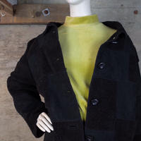 Designed Faux Sheepskin Jacket