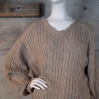 Vintage Crash V-neck Knit