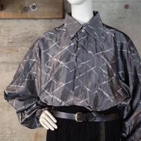 """GIANNI VERSACE"" Designed Shiny Rayon Shirt"