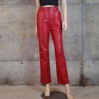 """伊太利屋"" Vintage Designed PVC Pants"