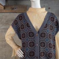 Vintage Designed Knit Vest