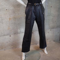 Leather Flare Pants