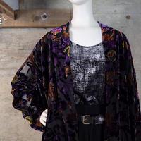 Vintage Designed Velour Jacket