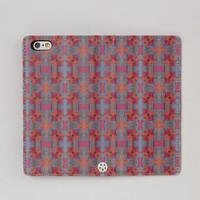 手帳型スマホケース salmon(iPhone5S/SE)