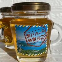 瀬戸内の島蜂蜜 120g 2160円