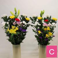 【おまかせ定期便C】お仏壇の花 2,200円×2束