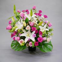 定期お届け便 季節花のアレンジメント 12,000円