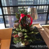 生花クリスマスツリー アレンジメント