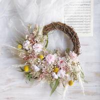 wreath   *cherry blossom*
