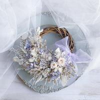 【再販受注】wreath   *lavender*