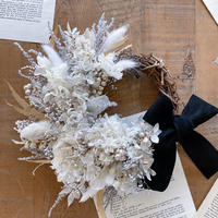 winter wreath *white*